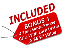 free call from Santa Claus